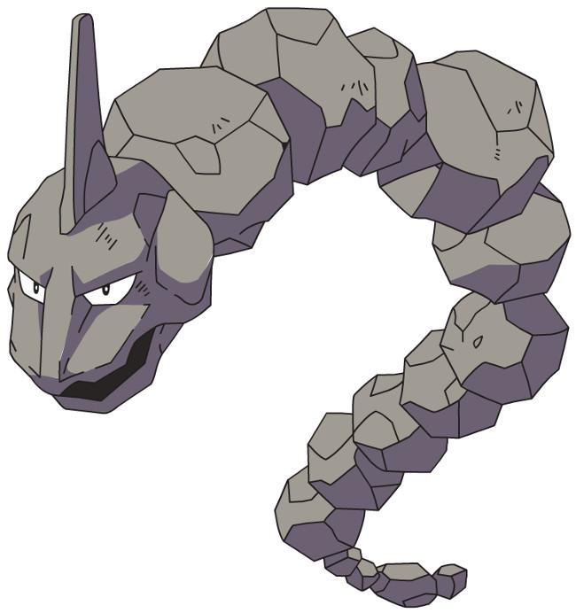 Pokemon hệ đá.