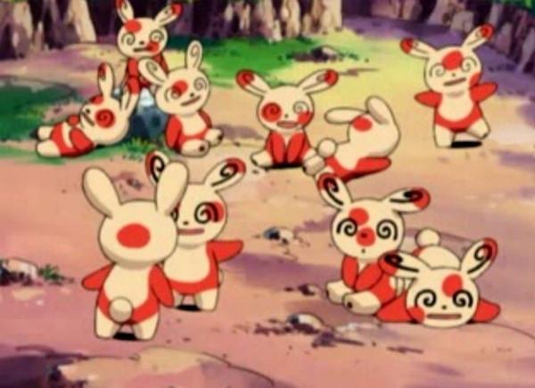 Pokemon Spinda hình bông tuyết đặc biệt
