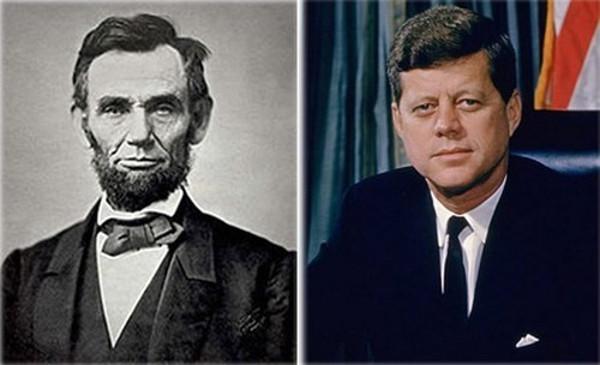 Sự trùng hợp ngẫu nhiên đến kỳ lạ giữa 2 vị tổng thống - Abraham Lincoln và John F. Kennedy