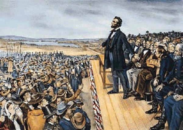 Tổng thống Abraham Lincoln là một diễn giả xuất sắc và lôi cuốn