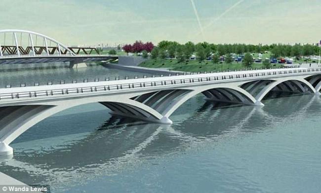 """Cây cầu được thiết kể bởi những nhà nghiên cứu tại Đại học Warwick sẽ """"không có điểm yếu nào""""."""