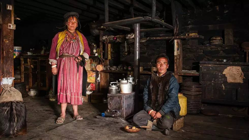 Người Bhutan thân thiện, thích được chụp ảnh.