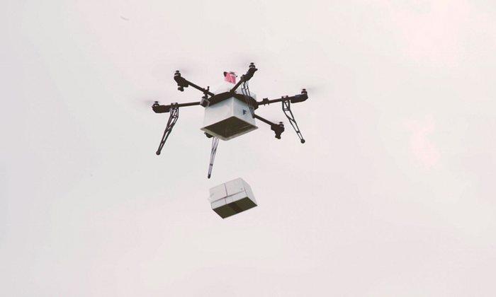 Đến năm 2018, người dùng sẽ thấy ngày một nhiều hơn cảnh tượng những thiết bị bay không người lái đi giao hàng.