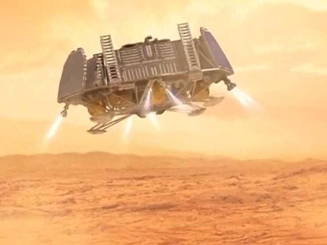 Phi thuyền sẽ đưa con người lên sao hỏa trong năm 2030.