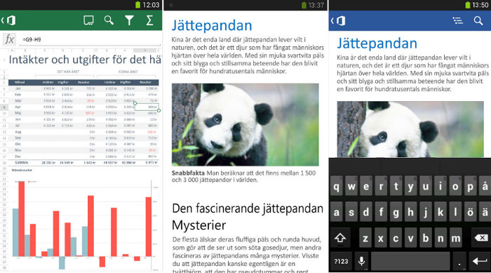 Office Mobile for Office 365 for Android