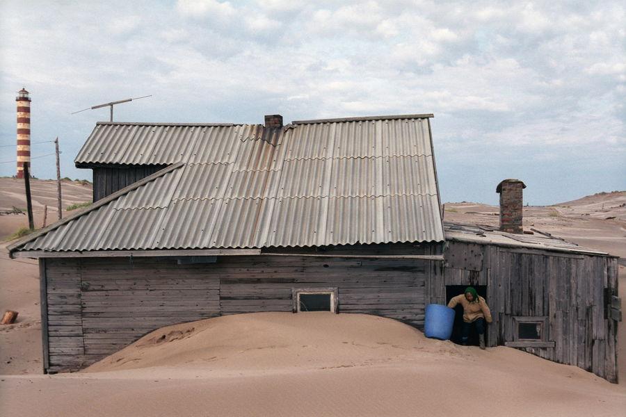 Làng Shoyna được thành lập vào những năm 1930 bởi vài gia đình ngư dân và vì số lượng cá và sinh vật biển tươi tốt ngoài khơi.