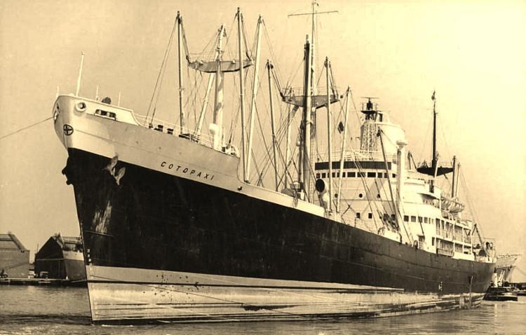 Con tàu bị mất tích vào ngày 1 tháng 12 năm 1925.