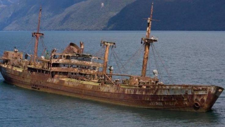 Đây là một tàu hơi nước điển hình mang tên Cotopaxi.