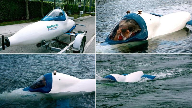 Nguyên mẫu tàu Aquaventure Watercrafts được sản xuất năm 2010.