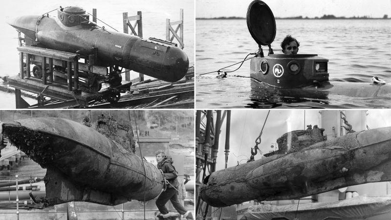 Tàu ngầm một người lái Welman trong Chiến tranh thế giới thứ hai được phát triển bởi Đội Tác chiến Đặc biệt (SOE) của Anh, tuy nhiên nó không phải là một sản phẩm thành công.