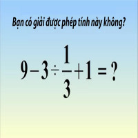 60% thanh niên Nhật Bản giải sai bài toán cực đơn giản này