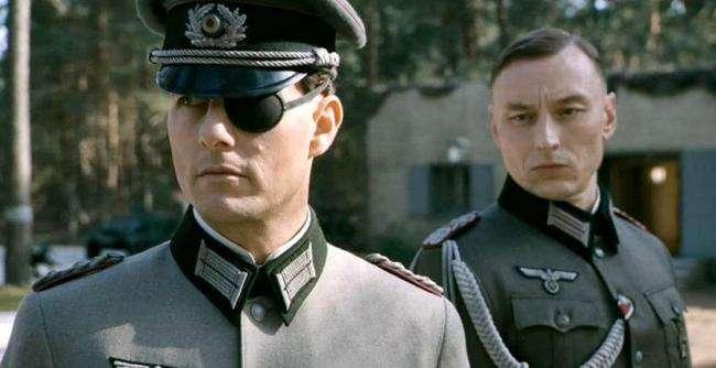 Bộ phim Valkyrie tái hiện lại vụ ám sát Hitler của đại tá Stauffenberg.