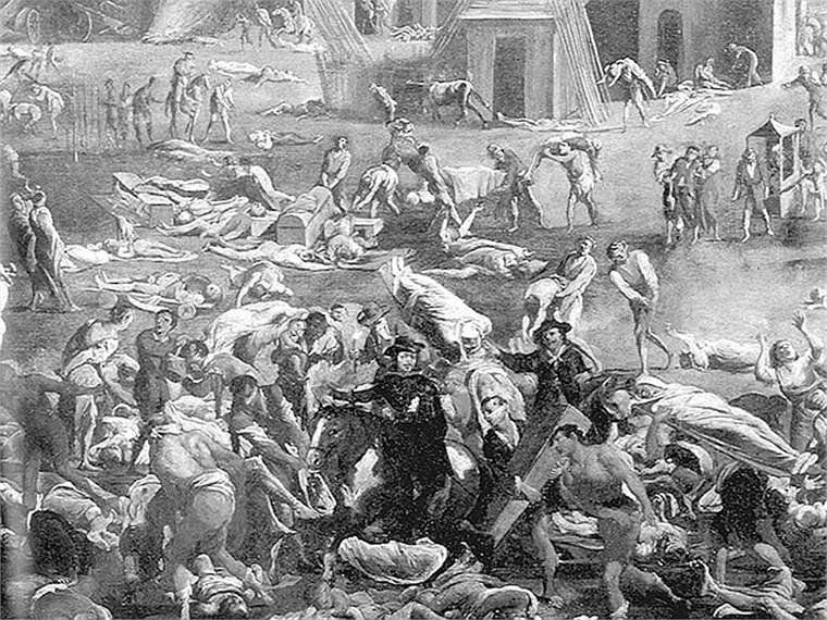 Cái chết đen là một trong những sự kiện kinh hoàng nhất trong lịch sử