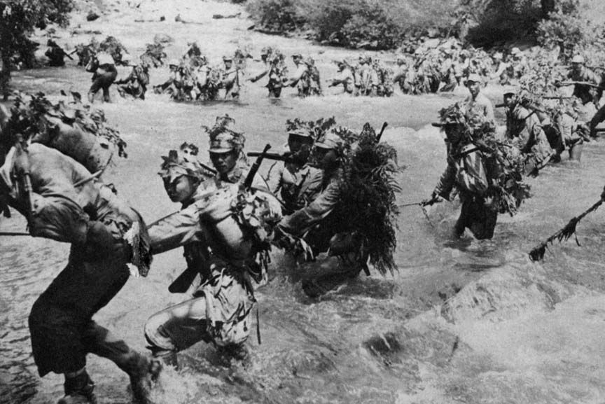 Năm 1945, sau cuộc chiến giữa quân đội Anh và phát xít Nhật, ước tính khoảng 1.000 lính Nhật Bản đã phải chạy trốn vào vùng đầm lầy bao quanh hòn đảo Ramree ở ngoài khơi bờ biển của Myanmar.