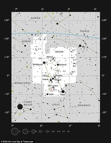 Hiện thông tin này đang khiến giới thiên văn học vô cùng sửng sốt.