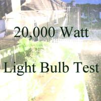 Bóng đèn 20.000 watt đủ sức chiếu sáng rực cả khu phố nhà bạn