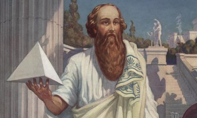 Nhà toán học Pythagoras.