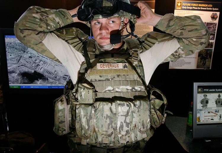 Áo giáp trong tương lai của quân đội Mỹ sẽ được làm từ sợi tơ của nhện đột biến gene.