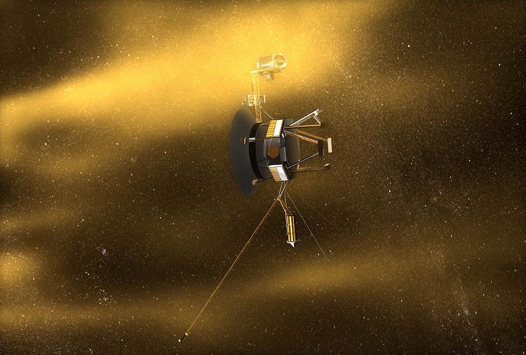 Voyager 1 - tàu du hành thể hiện tham vọng khám phá những nơi sâu thẳm trong vũ trụ.