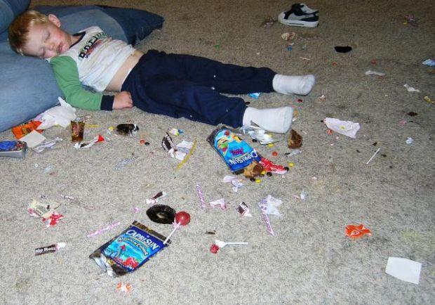 Trong thực tế, ăn quá nhiều đường khiến bạn hoàn toàn mệt mỏi
