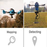 Ra mắt drone chuyên dò tìm bom mìn