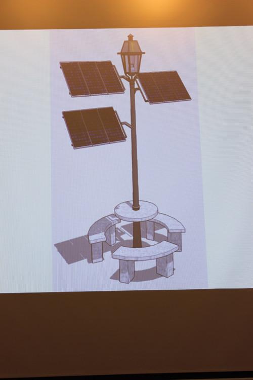 Mô hình solar tree.