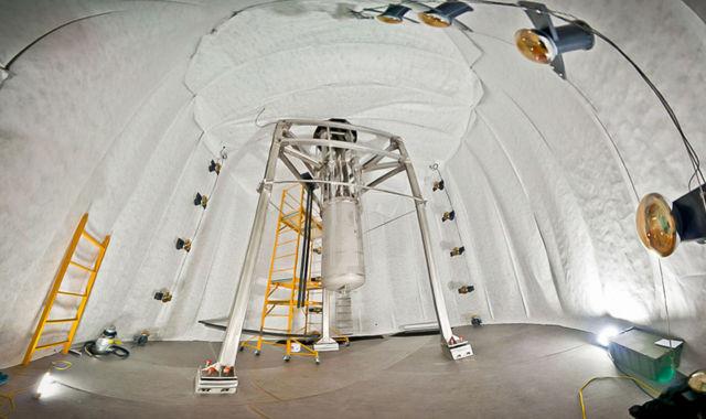 Thí nghiệm LUX ở South Dakota, Mỹ.