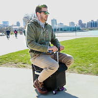 Modobag: Lái vali như xe đạp điện, tốc độ tối đa 12,9km/h