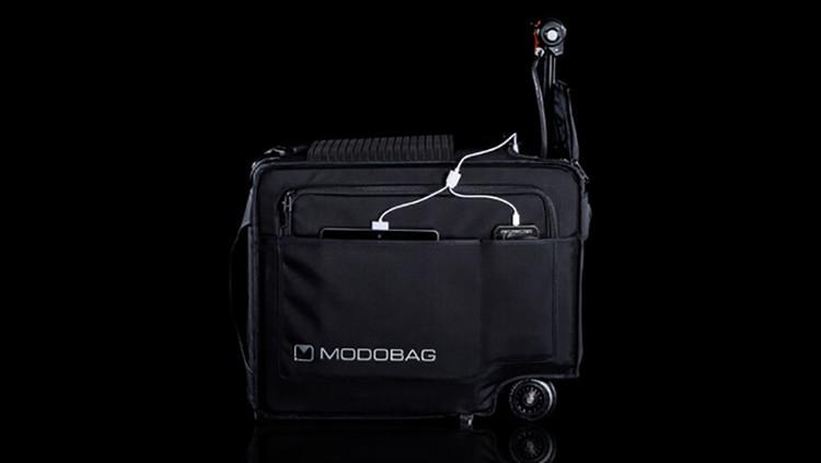 Modobag có kết nối với app chuyên biệt trên smartphone để giúp chủ nhân có thể theo dõi vali của mình.