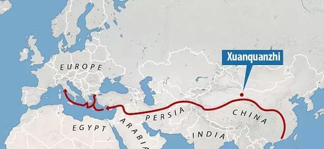 Chính Con Đường Tơ Lụa nổi tiếng cũng là con đường phát tán bệnh truyền nhiễm.