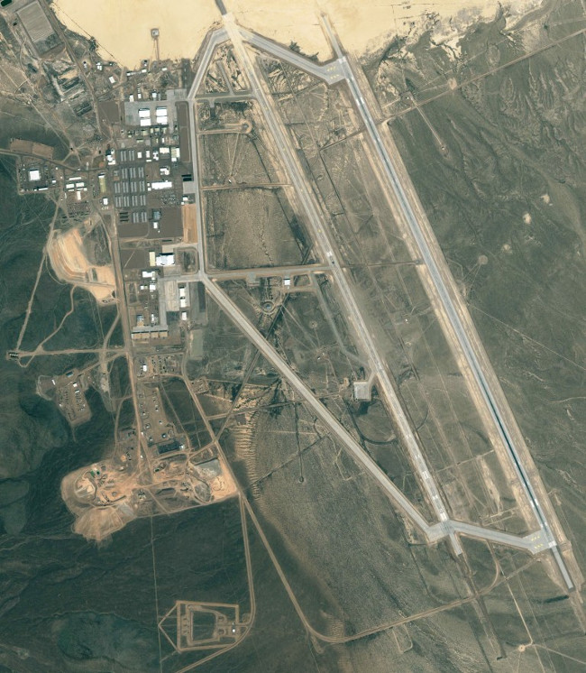 Bức ảnh vệ tinh chụp vùng 51.