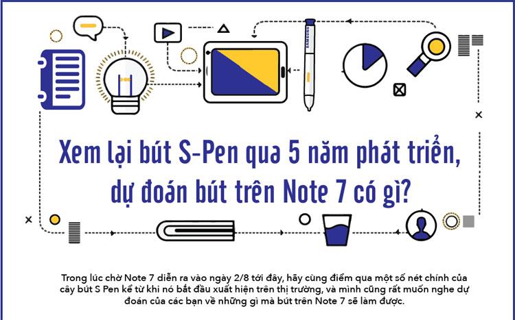 Chiếc S-Pen đời đầu của Note 1 có chức năng thao tác với máy tương tự như ngón tay của bạn.