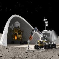 NASA đang nghiên cứu cách xây nhà trên Mặt trăng