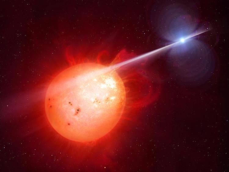 AR Scorpii thực chất là 2 ngôi sao.
