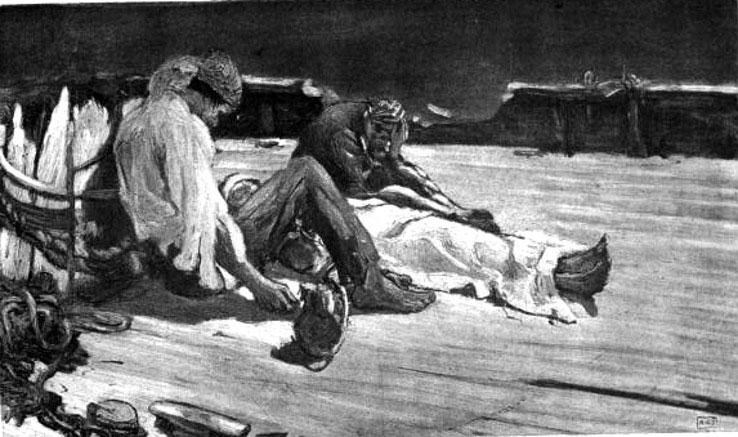 Câu chuyện ăn thịt người trong tiểu thuyết của Poe trở thành sự thật.