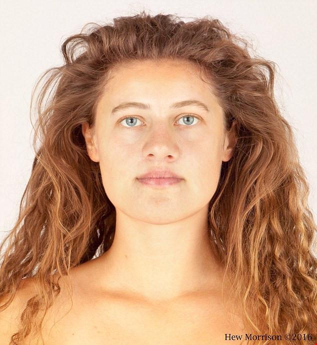 Ava đã qua đời 3.700 trước nhưng gương mặt đã được tái tạo lại dưới hình ảnh không gian hai chiều.