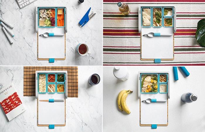 Prepd Pack được thiết kế để hướng người sử dụng tới một lối sống lành mạnh hơn thông qua việc tiêu thụ thực phẩm.
