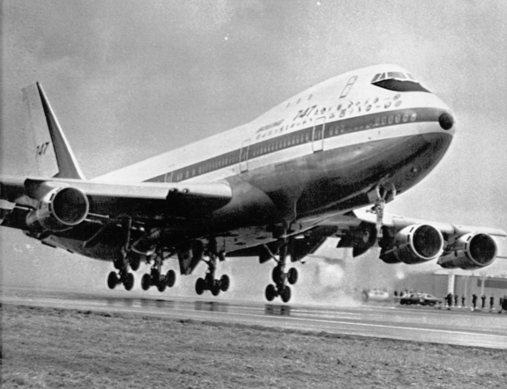 Boeing 747 lần đầu cất cánh vào tháng 2/1969.