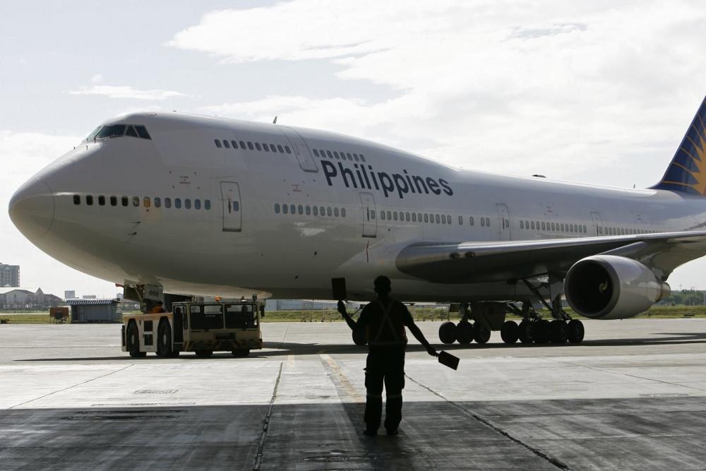 ...của hãng hành không Philippines...
