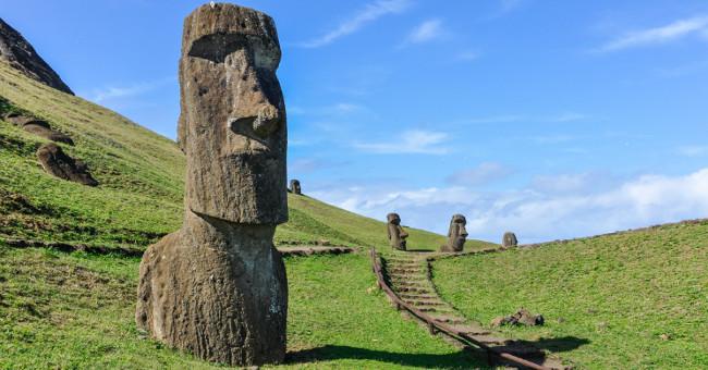Sức khỏe đời sống-Thuốc chống lão hóa dưới đầu tượng khổng lồ trên đảo Phục Sinh
