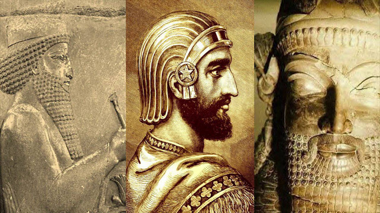 Đế chế Ba Tư hùng mạnh một thời.