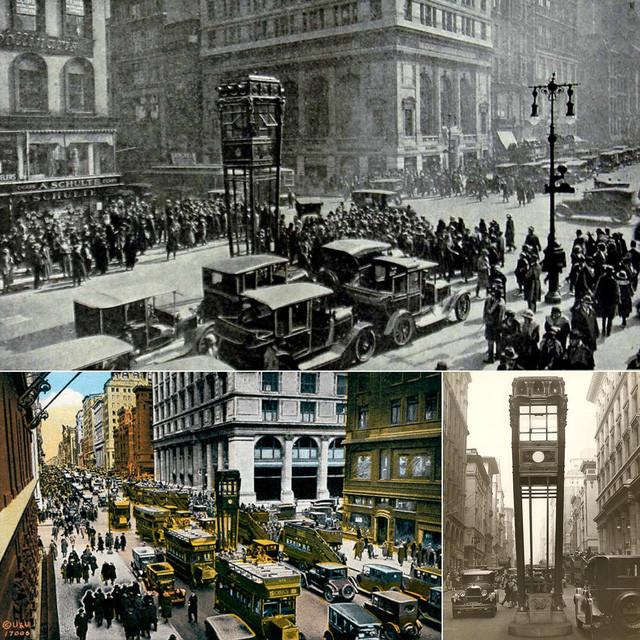 Fifth Avenue thời đó (và cho tới tận ngày nay) là một trong những con phố sầm uất nhất ở New York.