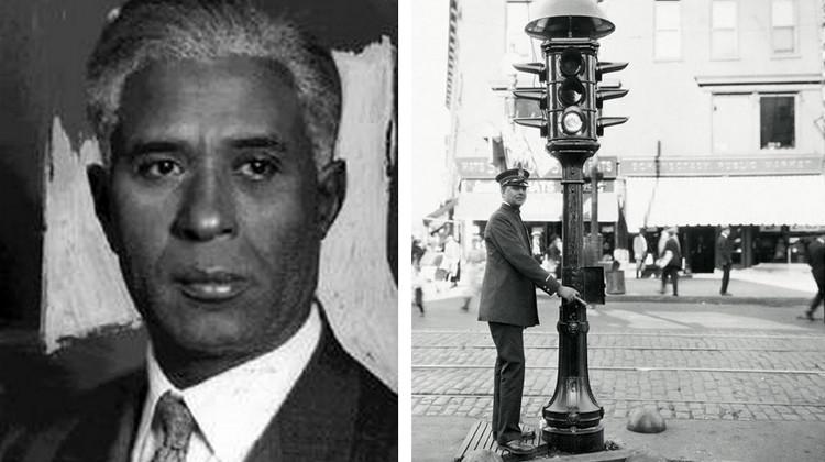 Garret Morgan và phát minh để đời của ông.