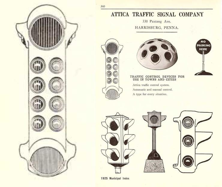 Vào giữa những năm 20 của thế kỷ trước tại Mỹ có hơn 50 loại đèn giao thông với những thiết kế khác nhau.