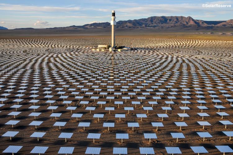 Hệ thống này có thể cấp điện cho nhu cầu của 75.000 hộ gia đình tại Nevada.