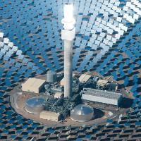 Nhà máy điện Mặt Trời làm từ 10.000 tấm gương khổng lồ