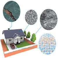 Công nghệ mới cho phép nhà ở tự hàn gắn sau đổ vỡ