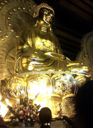 Sự tích lễ Vu LanTượng Đức Phật ở chùa Bái Đính.