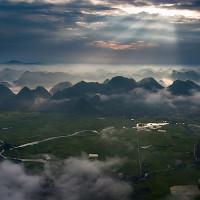Ba miền Bắc - Trung - Nam nhìn từ bầu trời