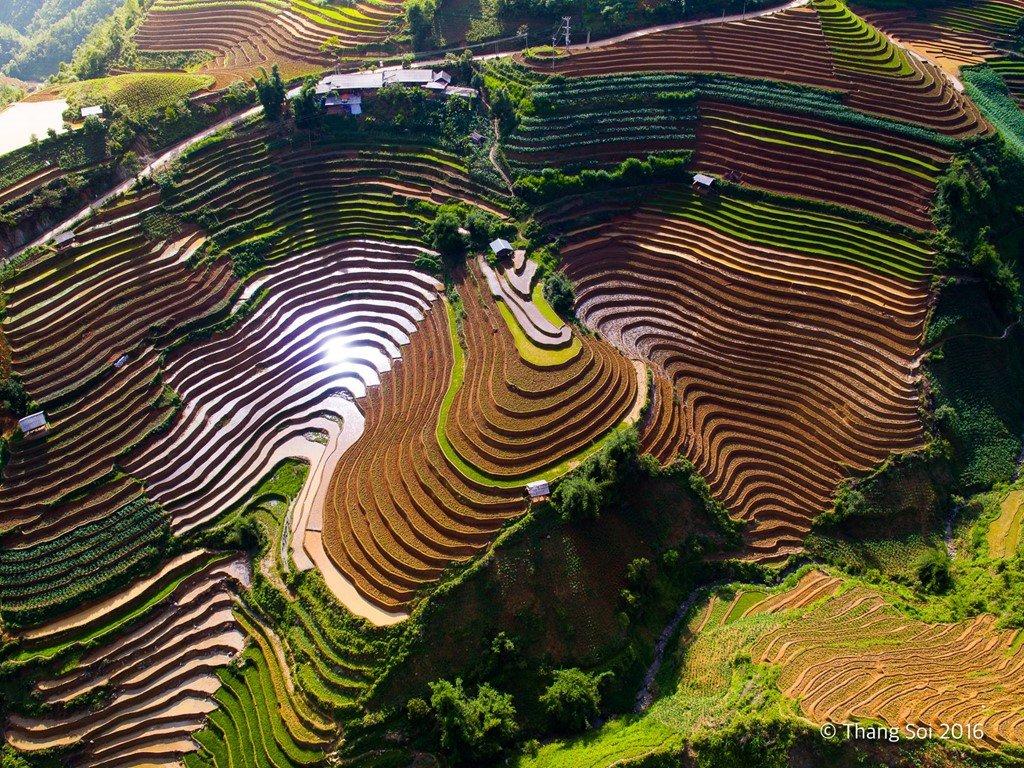 Hà Giang, nơi có những thửa ruộng bậc thang đẹp mắt, thu hút nhiều khách du lịch tìm đến mỗi ngày.